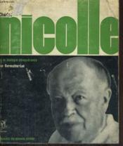 Charles Nicolle et la biologie conquérante - Collection savants du monde entier n° 4 - Couverture - Format classique