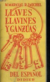 Llaves, Llavines, Y Ganzuas Del Espanol - Couverture - Format classique