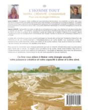 L'homme tout ; pour une écologie intérieure - 4ème de couverture - Format classique