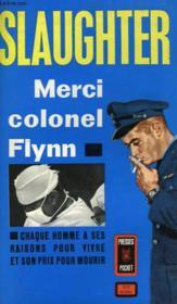 Merci Colonel Flynn - Air Surgeon - Couverture - Format classique