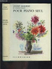 Pour Piano Seul - Couverture - Format classique