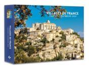 L'agenda-calendrier villages de France (édition 2020) - Couverture - Format classique