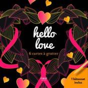 Hello love ; 6 cartes à gratter - Couverture - Format classique