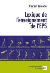 Lexique de l'enseignement de l'EPS - Couverture - Format classique
