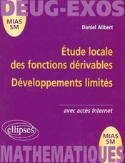Étude locale des fonctions dérivables ; développements limités - Intérieur - Format classique