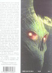 Traquemort t.5 ; la destinée - 4ème de couverture - Format classique
