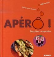 Apéro ! bouchées craquantes - Couverture - Format classique