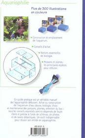 Aquarium D Eau Douce - 4ème de couverture - Format classique