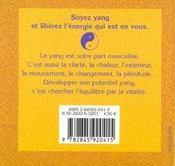 Soyez Yang - 4ème de couverture - Format classique