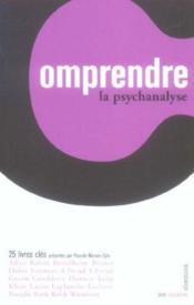Comprendre La Psychanalyse - Couverture - Format classique