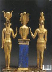 Les pharaons - 4ème de couverture - Format classique