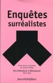 Enquêtes surréalistes - Couverture - Format classique