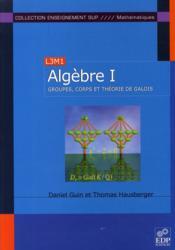 Algèbre t.1 - Couverture - Format classique