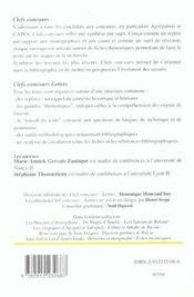 Jaccottet, Poesie - 4ème de couverture - Format classique