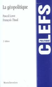 La geopolitique - 2eme edition - Couverture - Format classique