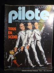 Revue Pilote n°756 Le journal qui vous donne un fauteuil d'orchestre. Tous en scène. Page centrale Robert Redford - Couverture - Format classique