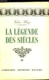 La Legende Des Siecles - Tome 3 - Couverture - Format classique