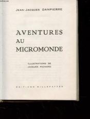 Aventures Au Micromonde - Couverture - Format classique