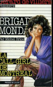 La Call-Girl De Montreal - Couverture - Format classique