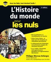 L'histoire du monde pour les nuls (2e édition) - Couverture - Format classique