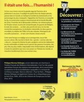 L'histoire du monde pour les nuls (2e édition) - 4ème de couverture - Format classique