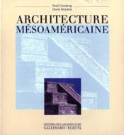 Architecture mésoaméricaine - Couverture - Format classique