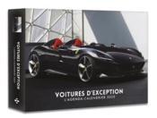 L'agenda-calendrier voitures d'exception (édition 2020) - Couverture - Format classique