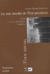 Les trois mondes de l'état-providence ; essai sur le capitalisme moderne - Intérieur - Format classique