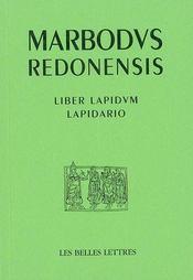 Lapidario.liber lapidum - Intérieur - Format classique