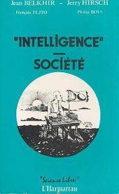 Intelligence Societe - Intérieur - Format classique