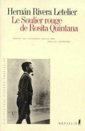 Le soulier rouge de Rosita Quintana - Couverture - Format classique