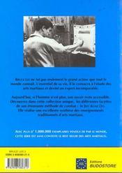Bruce Lee, ma méthode de combat - 4ème de couverture - Format classique