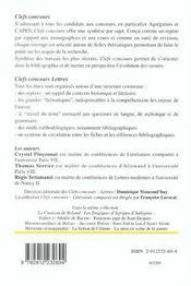 Echos picaresques ds le roman du xxe s. - 4ème de couverture - Format classique