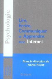 Lire, écrire, communiquer et apprendre avec internet - Intérieur - Format classique