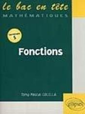 Fonctions - Couverture - Format classique