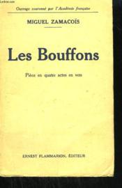 Les Bouffons. Piece En 4 Actes. - Couverture - Format classique