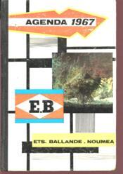 Agenda 1967- Noumea - Couverture - Format classique