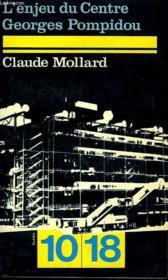 L'Enjeu Du Cntre Georges Pompidou - Couverture - Format classique