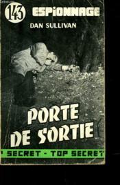 Porte De Sortie - N°143 - Couverture - Format classique