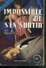 Impossible De S'En Sortir (No Way Out) - Roman Policier Americain / Collection Le Fantome - Couverture - Format classique