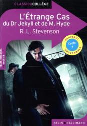L'étrange cas du Dr. Jekyll et de M. Hyde - Couverture - Format classique