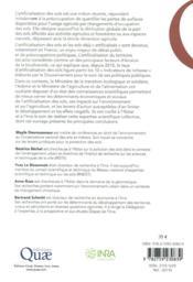 Sols artificialisés - 4ème de couverture - Format classique