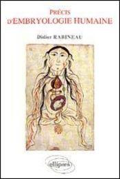 Precis d'embryologie humaine - Intérieur - Format classique