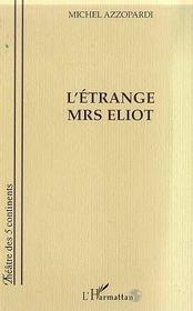 L'Etrange Mrs Eliot - Intérieur - Format classique
