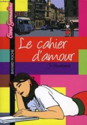 Le cahier d'amour - Couverture - Format classique