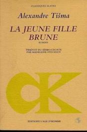 La Jeune Fille Brune - Couverture - Format classique