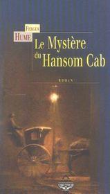 Mystere du hansom cab - Intérieur - Format classique