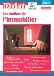 Les métiers de l'immobilier - Intérieur - Format classique