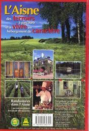 **Aisne - Sur Les Pas De La Fontaine Balades A Pied & Vtt - 4ème de couverture - Format classique