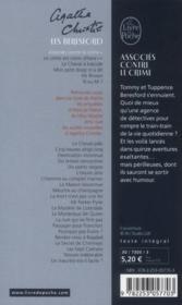 Associés contre le crime - 4ème de couverture - Format classique
